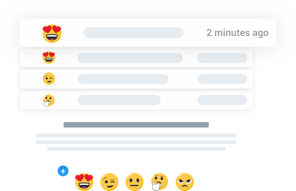 Emojics Email Real Time Feedback